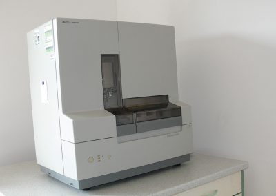 Laboratorio della genetica medica